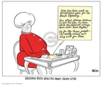 Ann Telnaes  Ann Telnaes' Editorial Cartoons 2006-12-22 higher